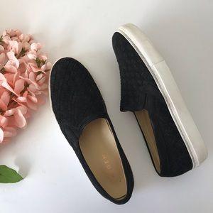 M. Gemi Cerchio Suede Platform Shoes